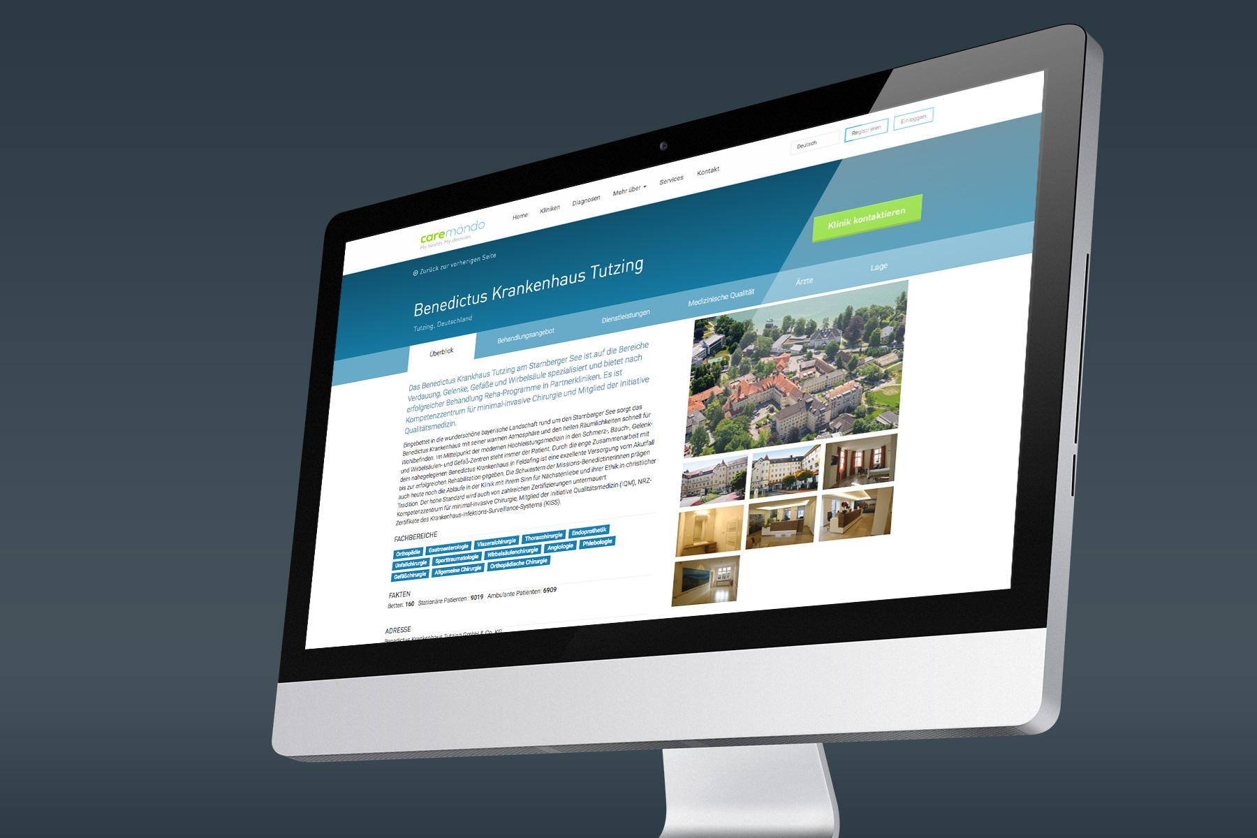 Web Design von Benchmark Design