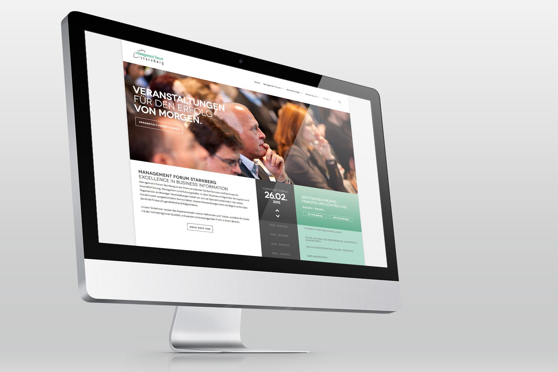 Web Design Ansicht von Benchmark Design   Design Agentur München ✅