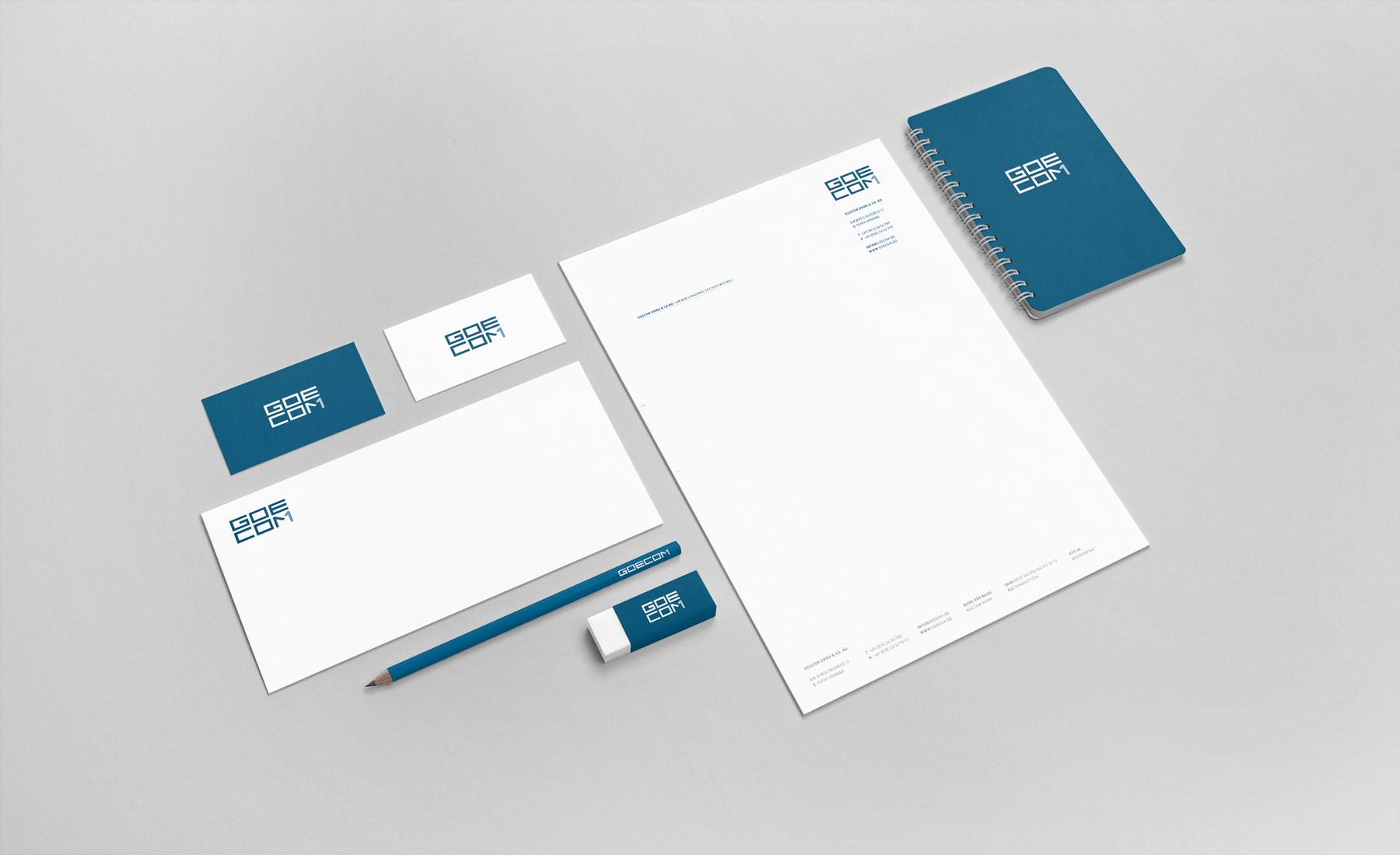 Corporate Design Ansicht von Benchmark Design | Design Agentur München ✅