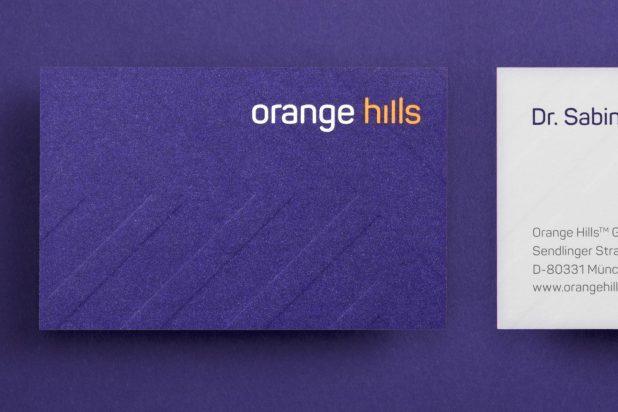 Orange Hills Corporate Identity