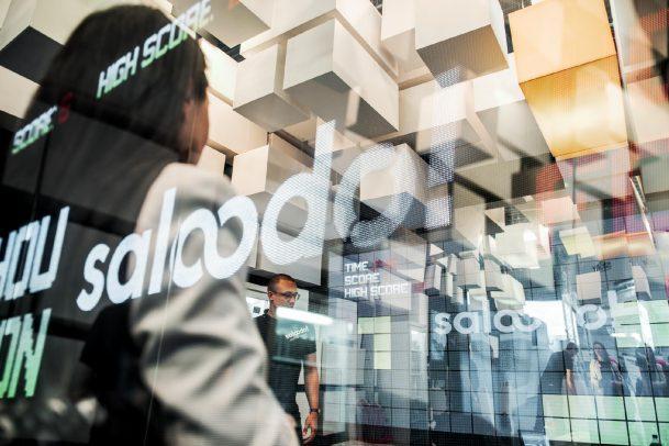 saloodo logo messe Corporate Design