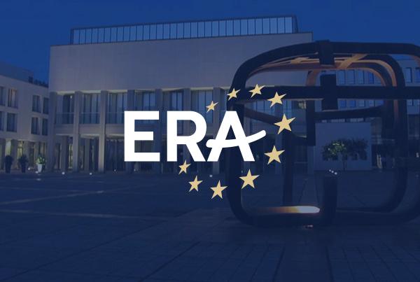 Europäische Rechtsakademie Corporate Identity & Design