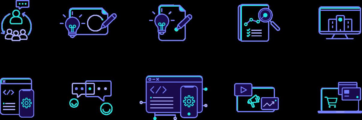 TechDivision Corporate Design Icons